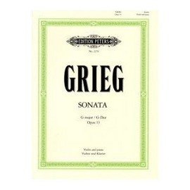GRIEG, Sonata G major for Violi and Piano / G-dur für Violine und Klavier Opus 13