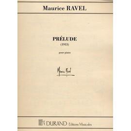 Ravel Prélude 1913