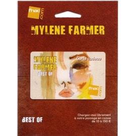 Carte cadeau FNAC Mylène FARMER Best of 2001-2011