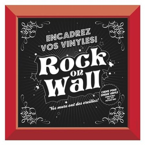 Accessoires vinyle Rock on wall Single Rouge