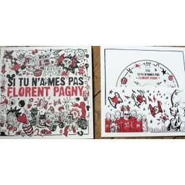 FLORENT PAGNY Si tu n'aimes pas CD PR0M0 1 titre dans poster