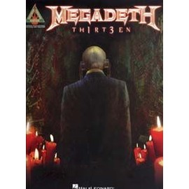 MEGADETH TH1RT3EN TAB