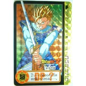 Dbz Carte Dragon Ball Z Carddass Prism 1994 Dp Bp 155 Part 2 Ssj2 Sangohan