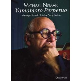 NYMAN MICHAEL YAMAMOTO PERPETUO FOR SOLO FLUTE