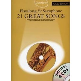 GUEST SPOT 21 GREAT SONGS GOLD EDITION SAX +  4 CD