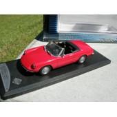 Solido 1/43 Metal Alfa Romeo Spider 1300 Junior 1970 Rouge