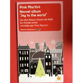 "PLV Pink Martini ""Joy to the world"""