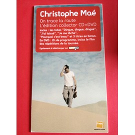 "PLV Christophe Maé ""On trace la route"" Edition collector"