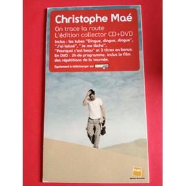 "PLV Christophe Maé ""On trace la route"" Edition collector"