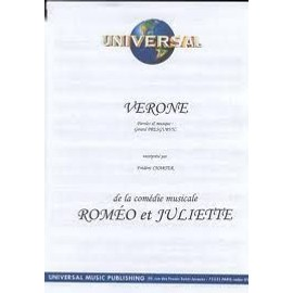 PARTITION VERONE ROMEO & JULIETTE