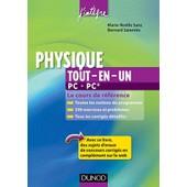 Physique Tout-En-Un Pc, Pc* - Le Cours De R�f�rence de Marie-N�elle Sanz