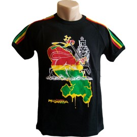T-Shirt - Collection Mode Dom Tom - Martinique 972 Madinina - Outre-Mer France - Tee Shirt Adulte