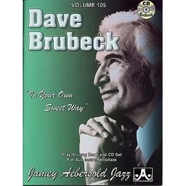 DAVE BRUBECK CD AEBERSOLD 105