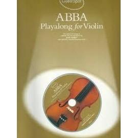 abba playalong for violin + CD