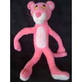 Panth�re Rose Ann�e 1997 Nounours 40 Cm