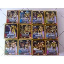 Lot Myth Cloth 12 Chevaliers D'or