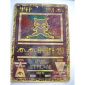 Pokemon Promo Ancient Mew ( Mew Antique ) ( Ancien Mew ) Double Holo ( Holo Recto Et Verso ) ( Encore Dans Sa Pochette Scell�e D' Origine )
