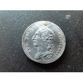 Jeton Argent Louis Xvi 1750 ( Graveur Tr�buchet )Rare
