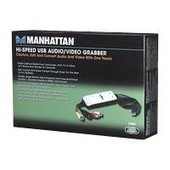 Video MANHATTAN Audio/Video Grabber USB 2.0 [bk]