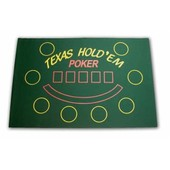 Tapis de Souris Poker Texas Hold'em Vert - Halterrego