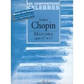 Mazurka Op.67 N°2 - Présentation AVRAND-MARGOT Piano