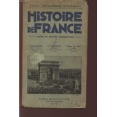 Histoire De France - Cours Du Brevet Elementaire. de Guillemain Guillermit Le Ster Abbe