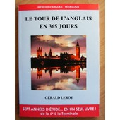 Le Tour De L'anglais En 365 Jours de G�rald Leroy