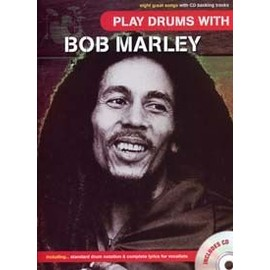 MARLEY BOB PLAY DRUMS WITH + CD