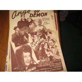 ange ou demon / jacques plante joe hajos ( du film nuit blanche yvette giraud