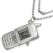 Collier Fantaisie Montre T�l�phone Portable