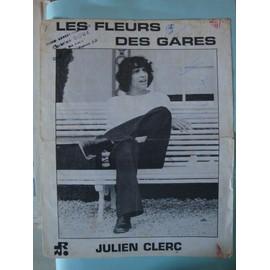 Julien CLERC Les fleurs des gares 1970