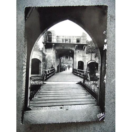 Carte Ecrite en 1957.château de la reochepot le pont <strong>levis</strong>