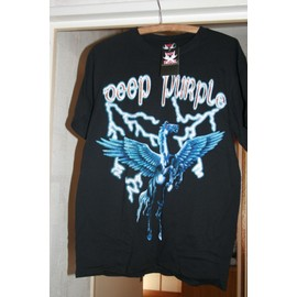 DEEP PURPLE T Shirt Logo recto Verso