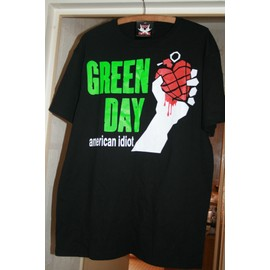 GREEN DAY T SHIRT Recto Verso - AMERICAN IDIOT Taille M
