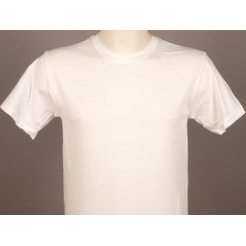 Tee Shirt Manches Courtes First Price Heavy Blanc Mc Coton Blanc 50053