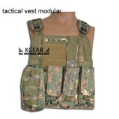 Airsoft Gilet Tactical Modulable Type Ciras Digital - Veste Tactique Paintball