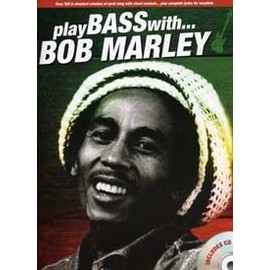 MARLEY BOB PLAY BASS WITH... + CD