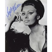 Sophia Loren - Photo Dedicacee