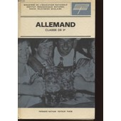 Allemand - Classe De 3� - Radio Television Scolaire. de MINISTERE DE L'EDUCATION NATIONALE