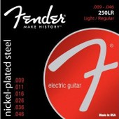 Fender 250lr 9-46 Light Medium - Jeu De Cordes Guitare �lectrique