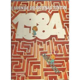 L'agenda Du Journal Tintin 1984
