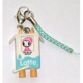 Tokidoki Latte Zipper Pull - Phone Charm - Clip On Fun