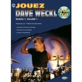 JOUEZ DAVE WECKL, niveau 1, volume 1 + CD