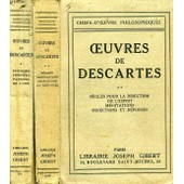 Oeuvres De Descartes, 2 Tomes de DESCARTES