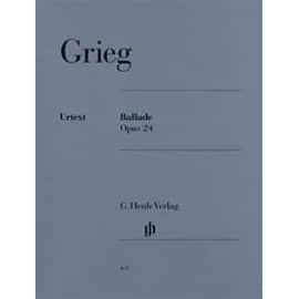 Ballade Opus 24 (In Form von Variationen über eine norwegische Melodie) Klavier