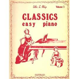 Classics easy Piano - Volume 3