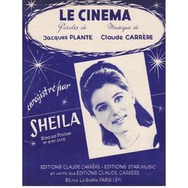 """Sheila """"Le Cinéma"""""""