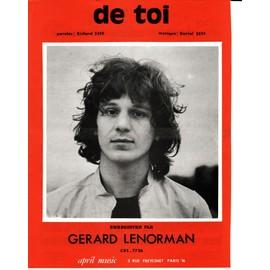 """Gérard Lenorman """"de Toi"""""""