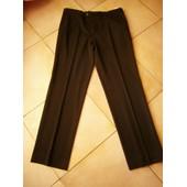 Pantalon Zara Habille Noir Taille 46 Neuf