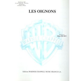 Les Oignons Chant, Piano / Vocal, Piano / Voce, Pianoforte / Canto, Piano